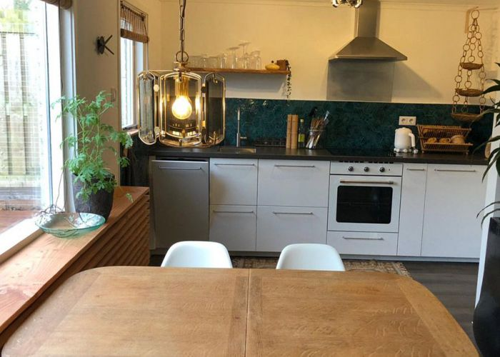 Woonruimte en keuken